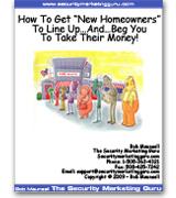 Alarm Dealer Program - New Homeowner Marketing Kit