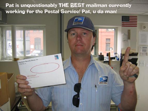 security marketing guru's mailman