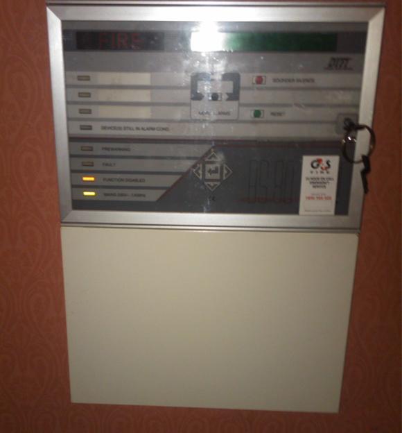 Ireland Fire Alarm Panel
