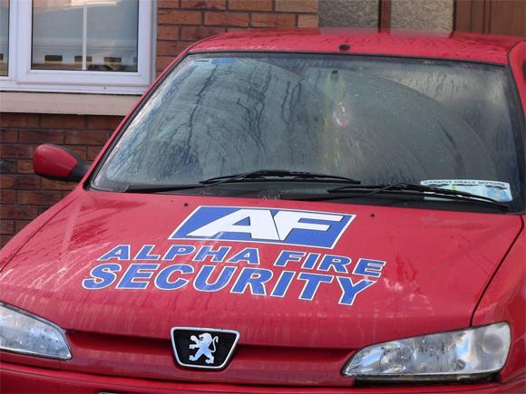 Ireland Security Van Marketing
