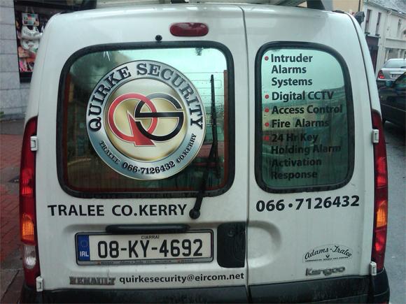 Security Van Advertising