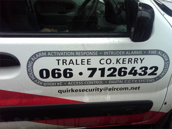 Security Marketing Tralee Ireland