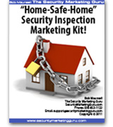 Home-Safe-Home Security Inspection Marketing Kit!