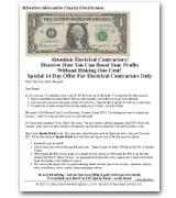 Joint Venture Sales Letter