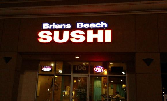 Brians Beach Sushi