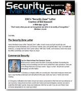 Security Zone™ Newsletter