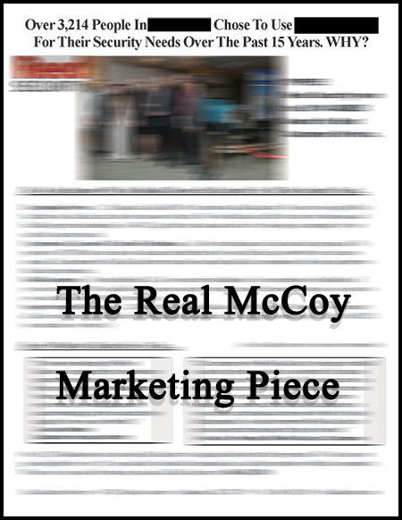 The Real McCoy Marketing Piece