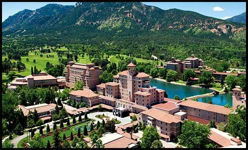 The Broadmoor - Colorado Springs, CO. ESTS 2015